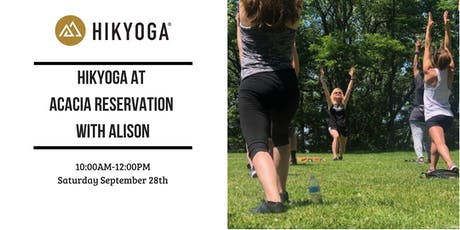 Hikyoga at Acacia Reservation with Alison tickets