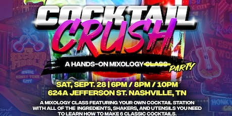 Cocktail Crush Nashville tickets