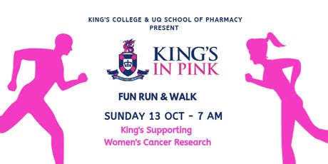 2019 KING'S IN PINK Fun Run & Walk tickets