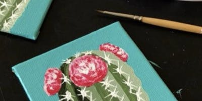 Miniature Studio Canvas and Clay Kids Night Out; Pizza Included