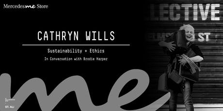 Mercedes me Store Melbourne presents - Cathryn Wills tickets
