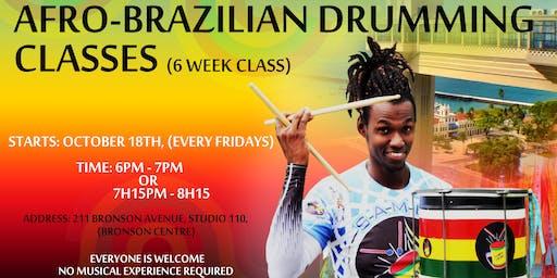 Brazilian Drumming Classes