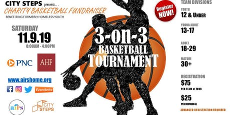 3rd Annual City Steps Three-on-Three Charity Basketball Tournament tickets