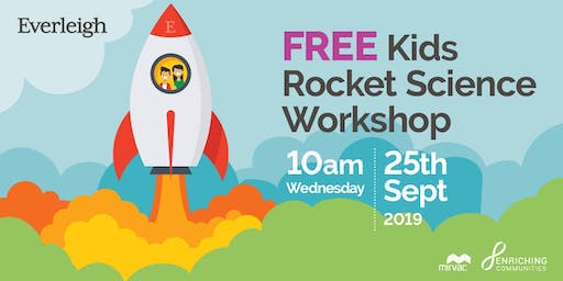FREE Kids Rocket Science Workshop