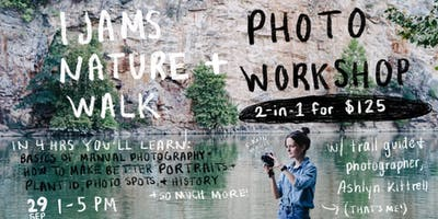 Ijams Nature Walk + Photo Workshop