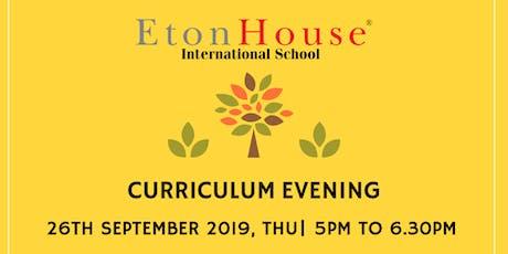 Curriculum Evening tickets