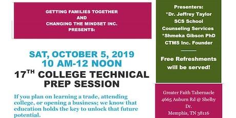 17th Annual College/ Technical Prep Session tickets