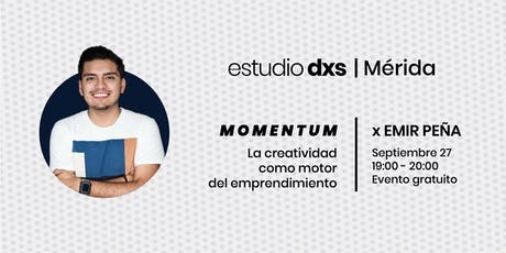 Momentum | La creatividad como motor del emprendimiento boletos