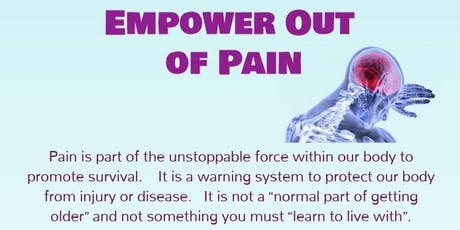 Empower Out of Pain tickets