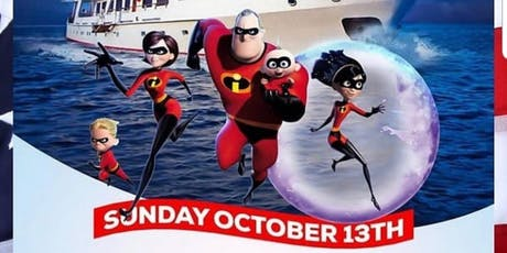 INCREDIBLES', COLUMBUS DAY KIDS PARTY CRUISE :: HARBOR LIGHTS YACHT tickets