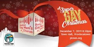 2019 Boston Gay Men's Chorus:   A Super GAY Christmas!