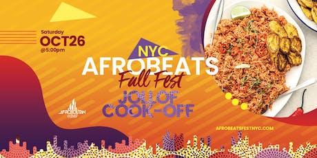 NYC Afrobeats Fall Fest & Jollof Cook-Off - Artist & Dance Performances | Top DJs | Popup Shop | Food Vendors | Art | Day Party tickets