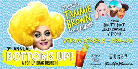 Bottoms Up Drag Brunch & Social with Tammie Brown from RuPaul's Drag Race! tickets
