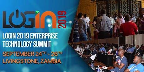 LOGIN 2019 - Zambia's Enterprise Technology Summit tickets