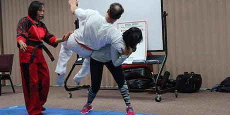Never A Victim Self-Defense Workshop 12/7/19 tickets