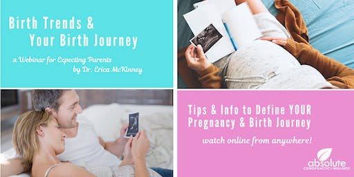 Birth Trends and Your Birth Journey: A Webinar For Expecting Parents