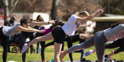 Yoga at Floriade