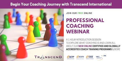 PROFESSIONAL COACHING WEBINAR: Join our Free 1-hour Introduction Session!