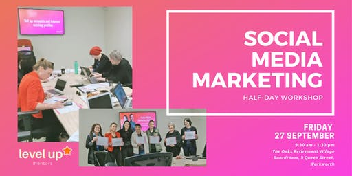 Half-day Social Media Marketing Workshop