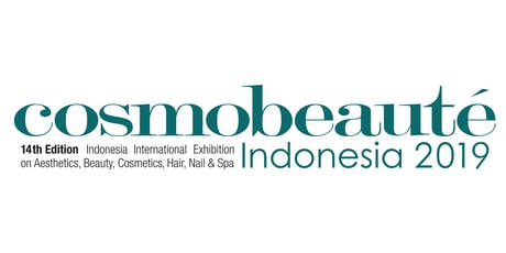 Trade Exhibition (B2B) Cosmo Beaute Indonesia 2019, 17 – 19 October 2019 tickets
