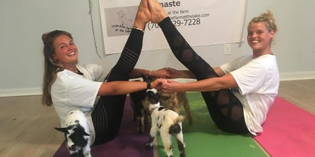SOLD OUT Goat Yoga with Baby Goats, Bunnies, & Baby Alpaca tickets