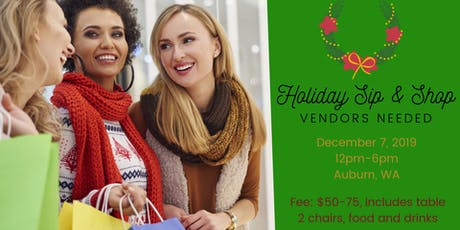 Vendors Needed for Holiday Shopping Event tickets