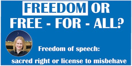 FREEDOM OR FREE-FOR-ALL? tickets