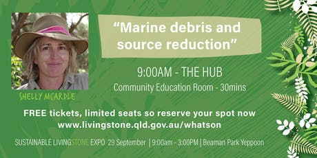 Shelly McArdle - Marine debris and source reduction tickets