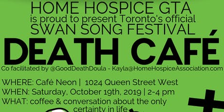 Official Swan Song Festival Death Cafe tickets