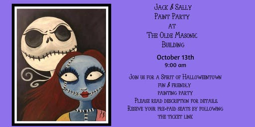 Jack and Sally at the Olde Masonic Building