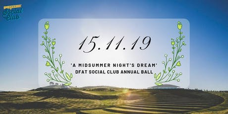 DFAT Ball 2019 tickets