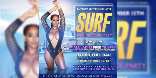 Surf Mansion Pool Party