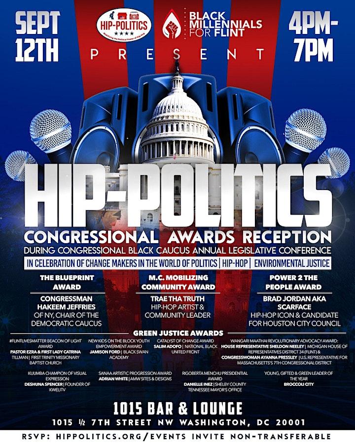 Hip-Politics Congressional Awards Reception image