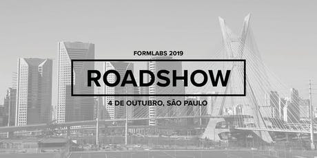 Formlabs São Paulo Roadshow 2019 ingressos