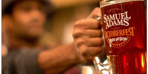 FREE STEIN HOISTING CONTEST PRESENTED BY SAM ADAM'S- MEN ONLY (SEPARATE WOMEN'S DIVISION)