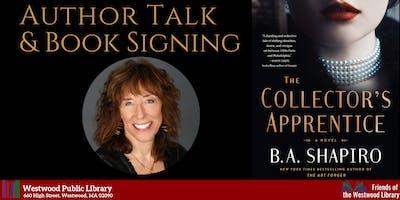 Author Talk & Book Signing: B.A. Shapiro