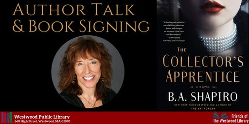 Author Talk & Book Signing: B.A. Shapiro
