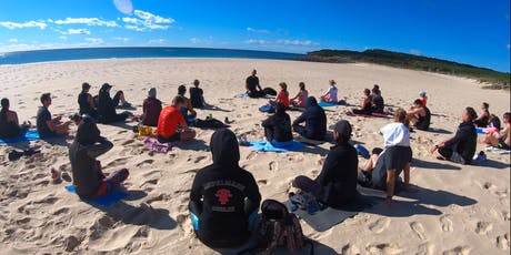 Free Meditation by the Sea - Maroubra Beach Each Saturday 8.45am tickets
