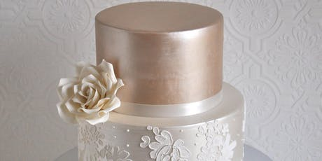 Cake Decorating Class: Luster/Stencil Cake Decorating Class at Fran's Cake and Candy Supplies tickets