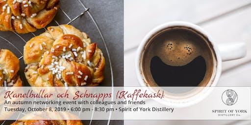 FIKA med Kanelbullar och Schnapps (Kaffekask)