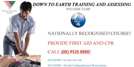 First Aid and Cardiopulmonary Resuscitation combined course! tickets
