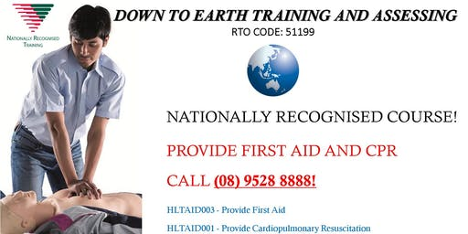 First Aid and Cardiopulmonary Resuscitation combined course!