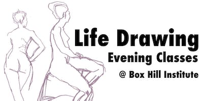 Life Drawing Classes at Box Hill Institute