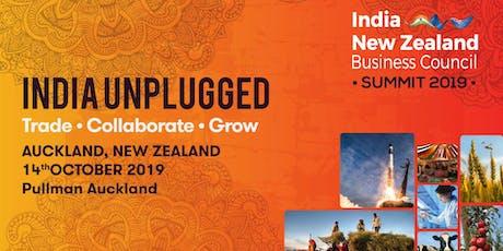 INZBC Summit 2019: India Unplugged-Trade, Collaboration, Grow tickets