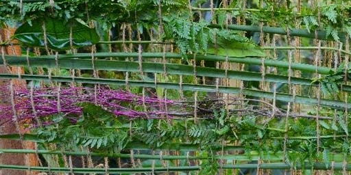 A Fence of Fibre Art