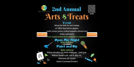The Second Annual Arts and Treats Event tickets
