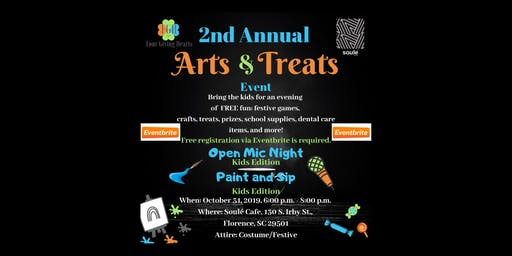 The Second Annual Arts and Treats Event