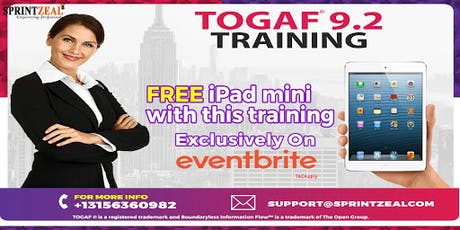 TOGAF® 9.2 Certification Training in Darwin tickets