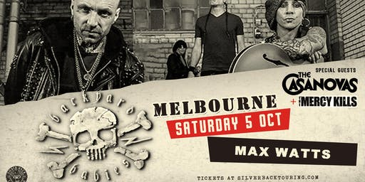 Backyard Babies - Melbourne - THE MERCY KILLS support discounted tickets