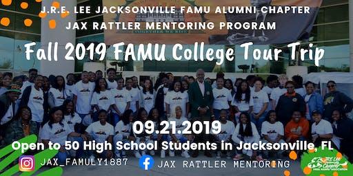 Jax Rattler Mentoring: Fall 2019 FAMU College Tour Trip